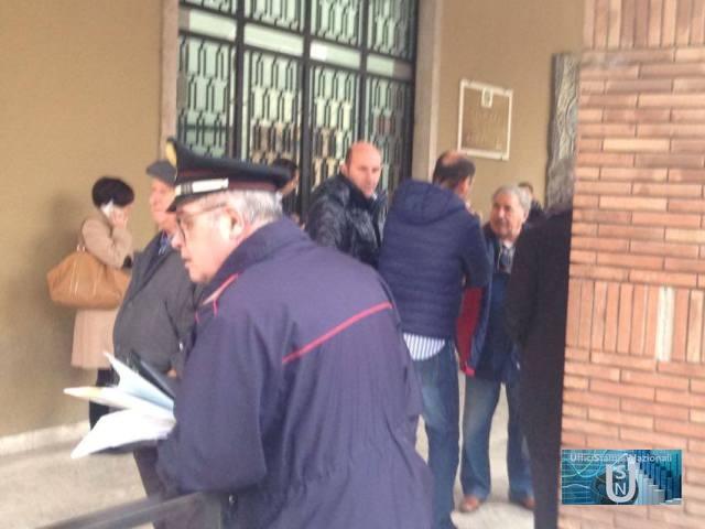 Paura al Tribunale di Rieti, disposta l'evacuazione dell'edificio per un allarme antincendio
