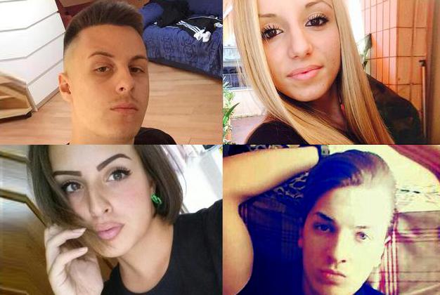 Il giorno del dolore, celebrati i funerali dei quattro giovani morti sabato notte