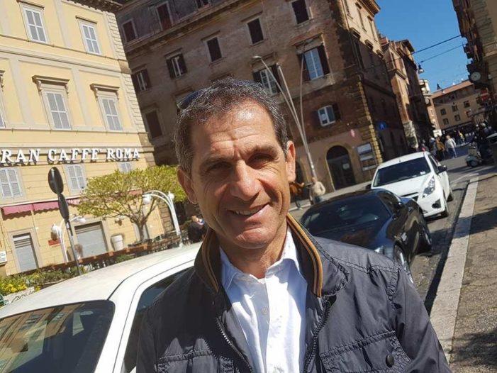 Spalletta con la gente di Vermicino; incontro organizzato per Mercoledì 26 aprile