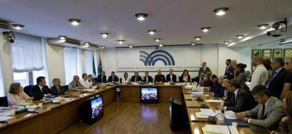 Al via lavori Conferenza delle Regioni. Tra punti all'ordine del giorno Unificata, intesa sui giochi