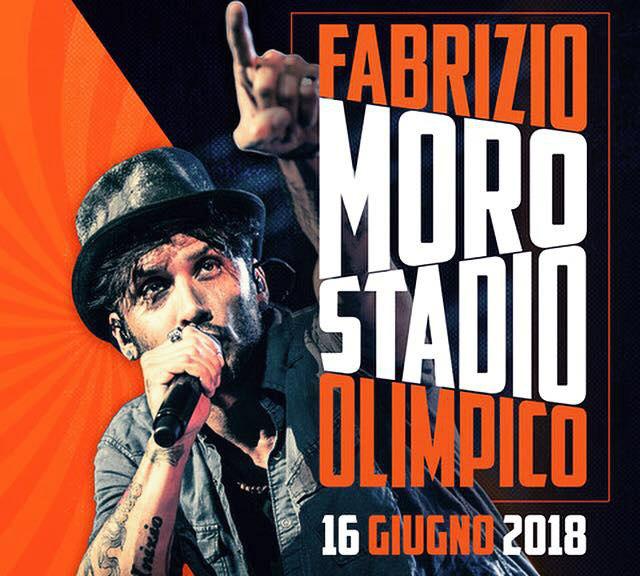 Fabrizio Moro, dal palco di Sanremo 2018 alla prima tappa nello stadio Olimpico di Roma