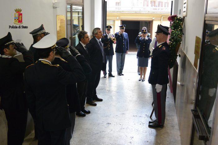 La Questura commemora l'agente Maurizio Arnesano, vittima di terrorismo