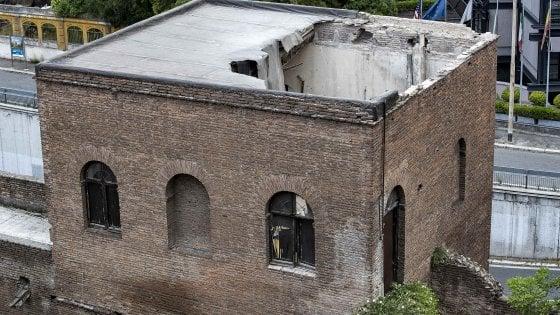 Mura aureliane, da oggi via ai lavori per la messa in sicurezza del torrione