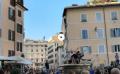 #Russia2018, incontenibile la festa dei francesi a Roma. Danni, cori e tuffi nella fontana di Campo de' Fiori