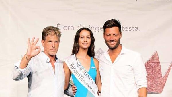 Camilla Del Pinto è la nuova Miss Rocchetta Lazio '18, tra la giuria Filippo Bisciglia e Thorne di Beautiful