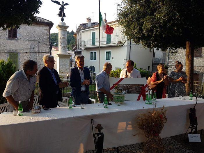 Grande successo a Jenne per il conferimento del premio al giornalista Rai TG1 Paolo Di Giannantonio