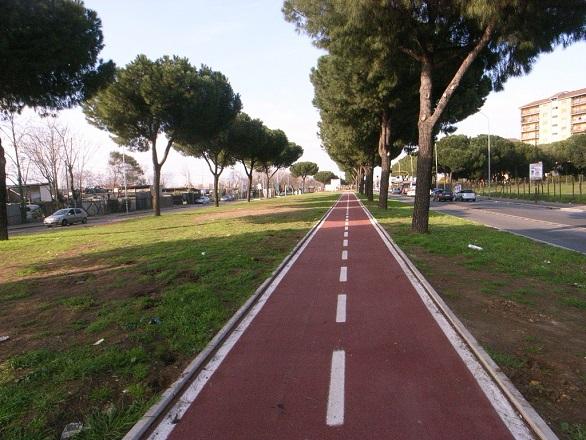 Ciclabile Prenestina, pubblicato bando per la nuova bike lane da Porta Maggiore a Viale Palmiro Togliatti