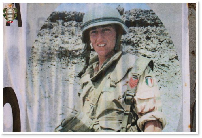 Commemorazione a Pescosolido per il XXIV anniversario della scomparsa del Caporal Maggiore Gianluca Catenaro