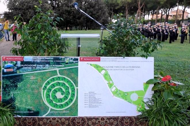 Inaugurato alla Romanina il primo Giardino della Giustizia, 27 querce dedicate ai magistrati uccisi